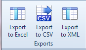 Export file list to CSV, Excel and XML with ShowSize Analyze